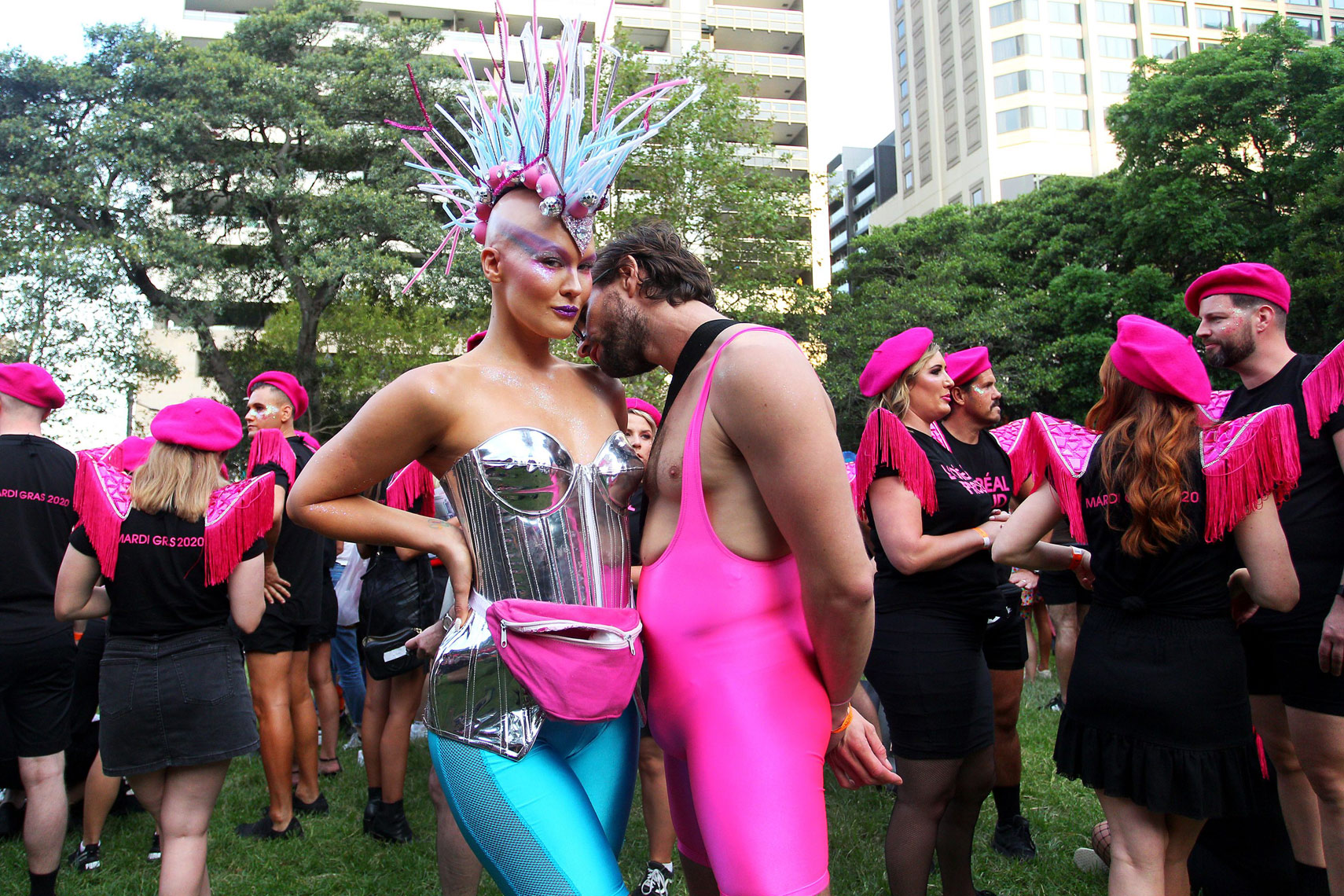 Sydney Celebrates 42nd Annual Sydney Gay & Lesbian Mardi Gras Parade